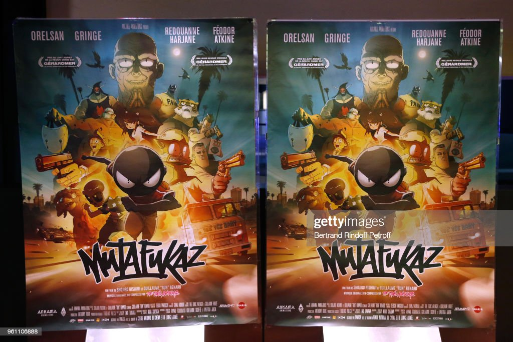 """Mutafukaz"" Paris Premiere in Paris"