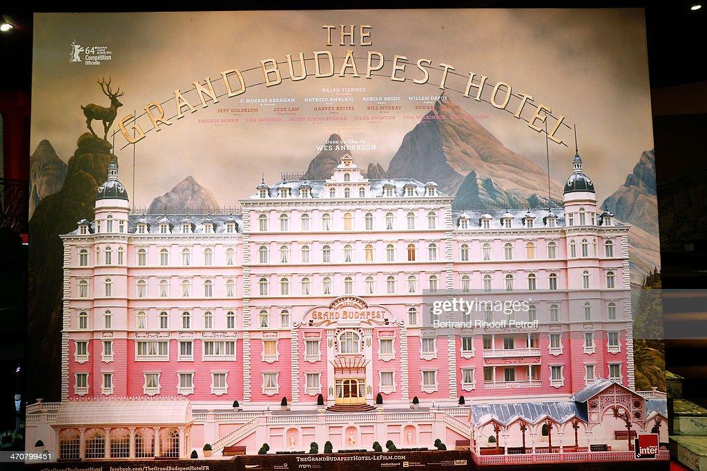 'The Grand Budapest Hotel' Paris Premiere At Cinema Gaumont Opera Capucines : Nachrichtenfoto