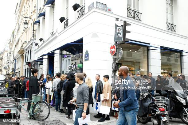Illustration view of the Shop during Claudia Schiffer attends the 'Kingsman The Golden Circle Kingsmann Le Cercle d'Or' Book Signing and its...