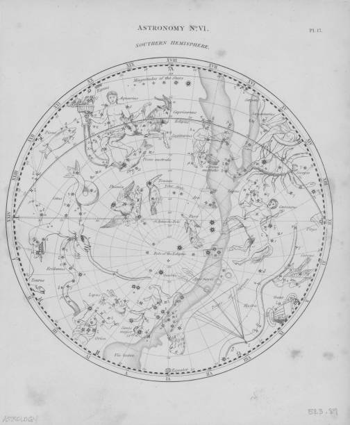 Constellations Of Southern Hemisphere