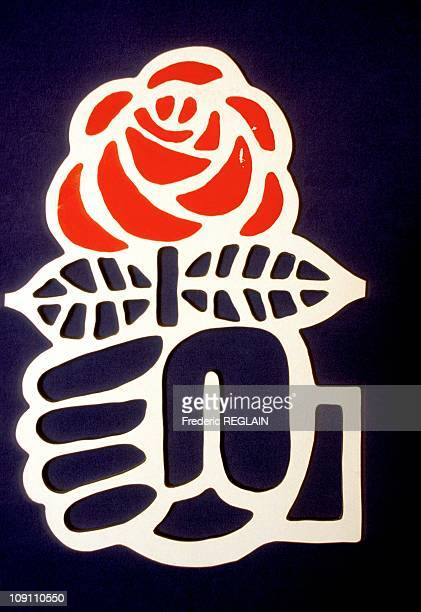 IllustrationFrench Socialist Party On September 5 1986 In France The Rose