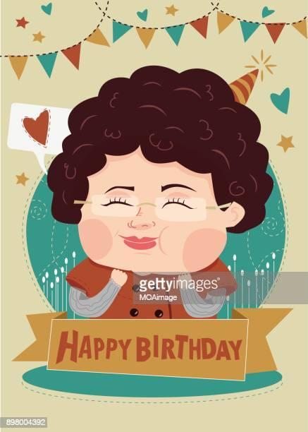 Illustration,Happy Birthday!
