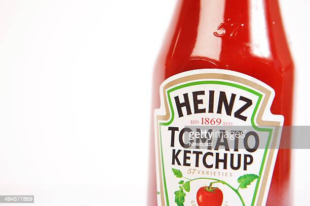 Illustrative image of a classic Heinz Original Tomato Ketchup bottle