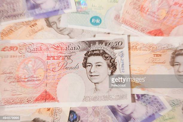 Illustrative image of a fifty pound note