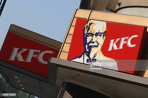 Illustrative image of a KFC restaurant part of the YUM Brands group