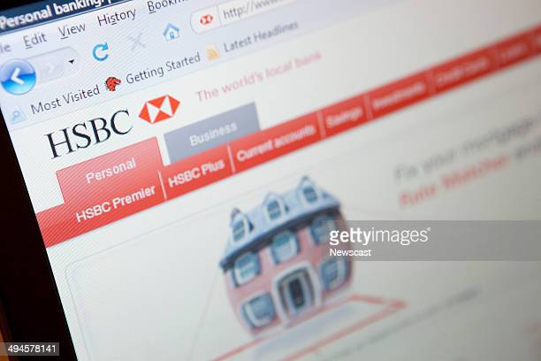 Illustrative image of the HSBC Bank website