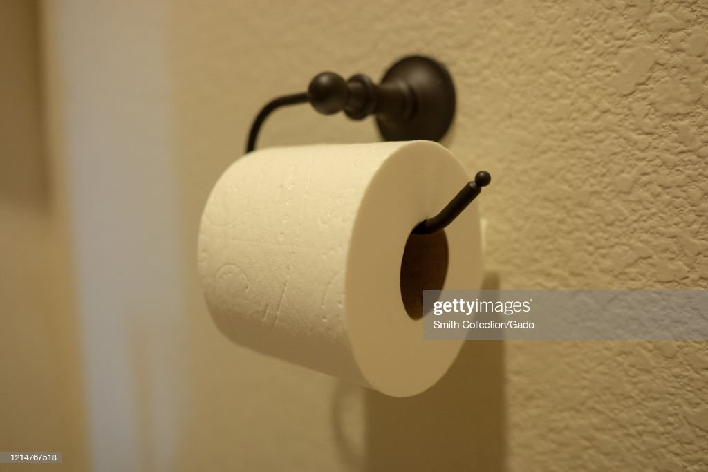COVID-19 Toilet Paper : News Photo