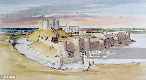 Illustrative reconstruction of York Castle North Yorkshire as it might have looked in the late 13th century 1985 The 11th century Clifford's Tower is...
