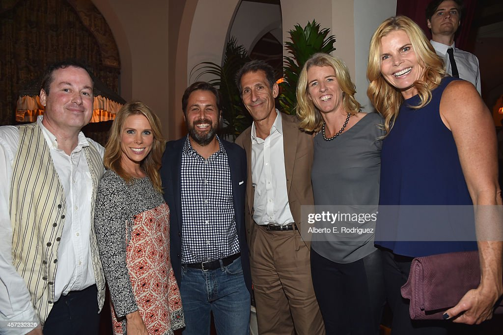 Illustrator Ed Hemingway, actress Cheryl Hines, author Mark Bailey, Chairman of Sony Entertainment, Inc. Michael Lynton, filmmaker Rory Kennedy and actress Mariel Hemingway attend the publication celebration of Mark Bailey and Ed Hemingway's 'Of All The Gin Joints: Stumbling Through Hollywood History' at Chateau Marmont on October 14, 2014 in Los Angeles, California.