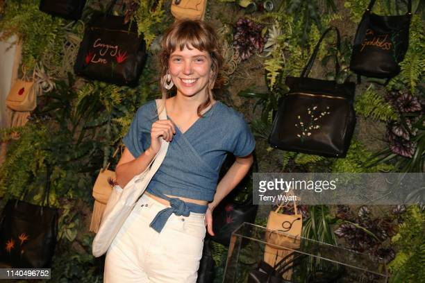 Illustrator Emily Miller attends the HOBO x Karen Elson Artisan Series Launch Party at White's Mercantile on April 04 2019 in Franklin Tennessee