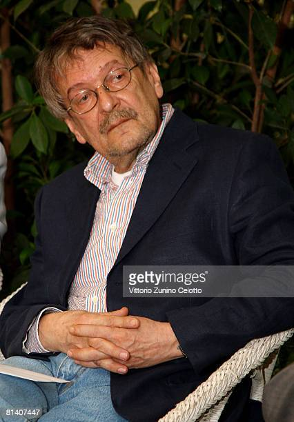 Illustrator Vladimir Novak attends the Gatti in Crisi D'Identita Book Launch held at Vivaio Sorelle Riva on June 04 2008 in Milan Italy