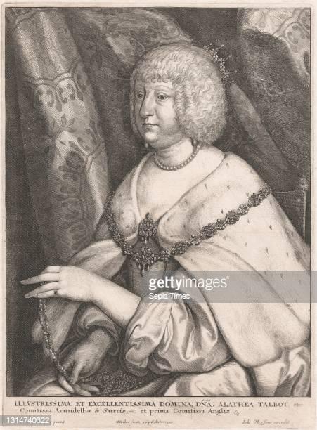 Illustrissima et Excellentissima Domina; Dna: Alathea Talbot, etc. Comitissa Arundelliae & Surriae, etc. Et prima Comitissa Angliae., Wenceslaus...