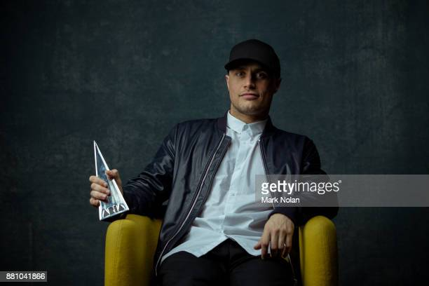Illy poses for a portrait with an ARIA for Best Australian Live Act during the 31st Annual ARIA Awards 2017 at The Star on November 28 2017 in Sydney...
