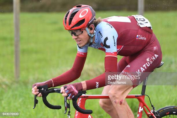 Ilnur Zakarin of Rusia and Team KatushaAlpecin / during the 58th Vuelta Pais Vasco 2018 Stage 6 a 1222km stage from Eibar to Arrate 540m on April 7...