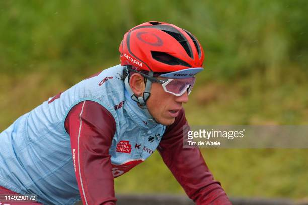 Ilnur Zakarin of Russia and Team Katusha Alpecin / during the 102nd Giro d'Italia 2019, Stage 5 a 140km stage from Frascati to Terracina / Tour of...