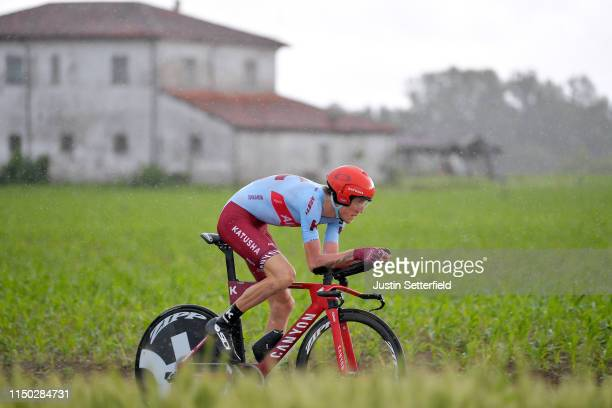 Ilnur Zakarin of Russia and Team Katusha Alpecin / during the 102nd Giro d'Italia 2019, Stage 9 a 34,8km Individual Time Trial from Riccione to San...