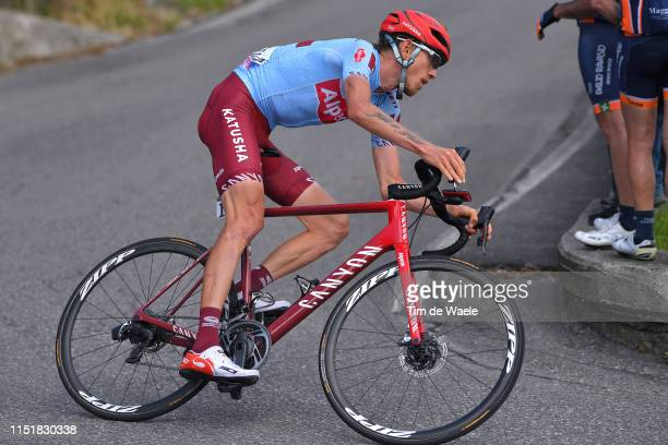 Ilnur Zakarin of Russia and Team Katusha Alpecin / during the 102nd Giro d'Italia 2019, Stage 15 a 232km stage from Ivrea to Como / Tour of Italy /...