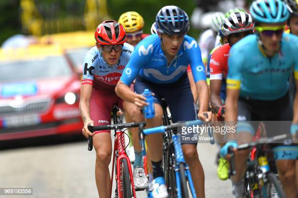 Ilnur Zakarin of Russia and Team Katusha Alpecin / during the 70th Criterium du Dauphine 2018 Stage 4 a 181km stage from ChazeysurAin to...