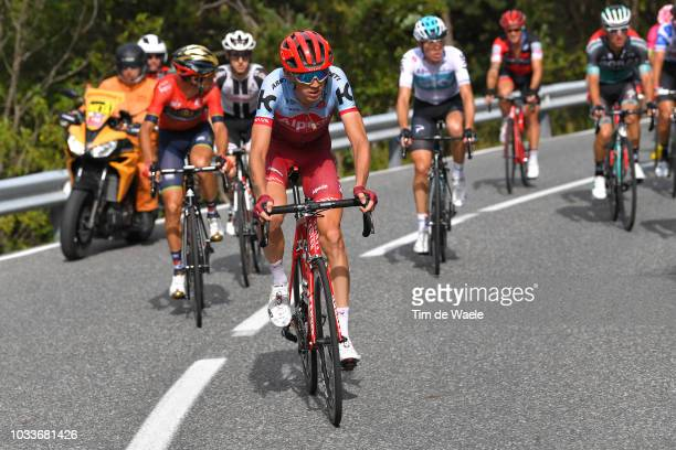Ilnur Zakarin of Russia and Team Katusha Alpecin / during the 73rd Tour of Spain 2018 Stage 20 a 973km stage from EscaldesEngordany to Coll de la...