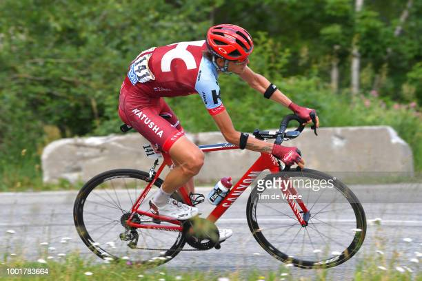Ilnur Zakarin of Russia and Team Katusha / during the 105th Tour de France 2018 Stage 12 a 1755km stage from BourgSaintMaurice Les Arcs to Alpe...