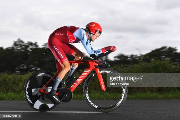 Ilnur Zakarin of Russia and Team Katusha / during the 105th Tour de France 2018, Stage 20 a 31km Individual Time Trial stage from...