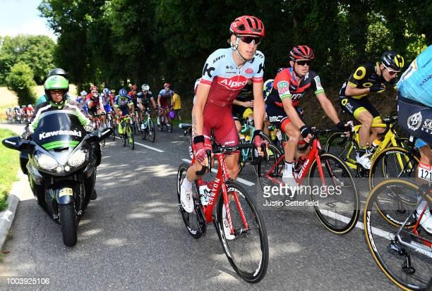 Ilnur Zakarin of Russia and Team Katusha / Simon Gerrans of Australia and BMC Racing Team / Peloton / during the 105th Tour de France 2018 Stage 15 a...