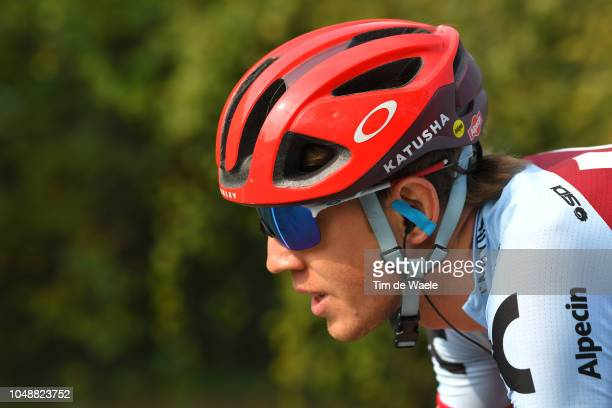Ilnur Zakarin of Russia and Team Katusha-Alpecin / during the 99th Milano - Torino 2018 a 200km race from Magenta-Milan to Torino-Superga 669m on...