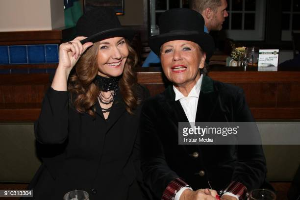 Ilona Baumgart and Hannelore Lay during the 'Senatsbock Party' At The Blockbraeu on January 25 2018 in Hamburg Germany