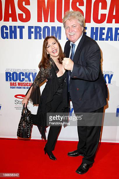 Ilona Baumgart and Klaus Baumgart attend the ROCKY Musical Gala Premiere at TUI Operettenhaus on November 18 2012 in Hamburg Germany