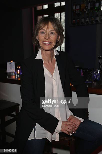 Ilona Gruebel attends the Ndf Afterwork Party at 8 Seasons on March 20 2013 in Munich Germany