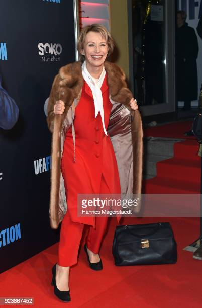 Ilona Gruebel during the 40th anniversary celebration of the ZDF TV series SOKO Munich at Seehaus on February 24 2018 in Munich Germany