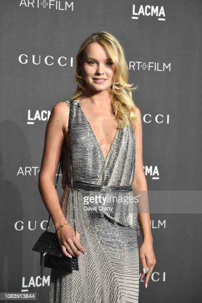 Ilona Huzarevich attends LACMA Art Film Gala 2018 at Los Angeles County Museum of Art on November 3 2018 in Los Angeles CA