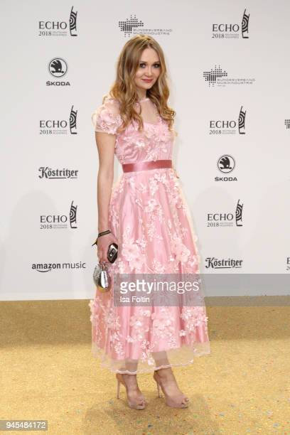 Ilona Matsour arrives for the Echo Award at Messe Berlin on April 12 2018 in Berlin Germany