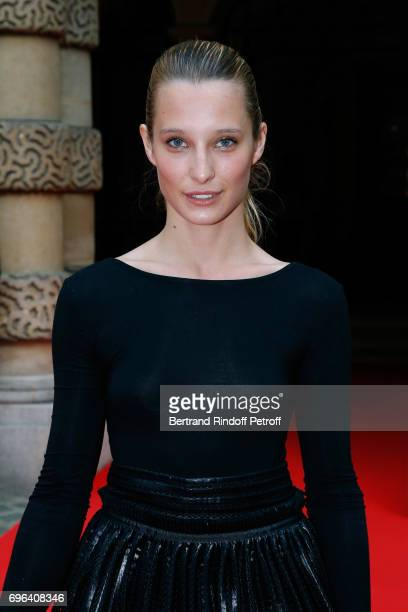 Ilona Smet attends the JeanPaul Gaultier 'Scandal' Fragrance Launch at Hotel de Behague on June 15 2017 in Paris France