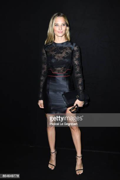 Ilona Smet attends the Lanvin show as part of the Paris Fashion Week Womenswear Spring/Summer 2018 on September 27 2017 in Paris France