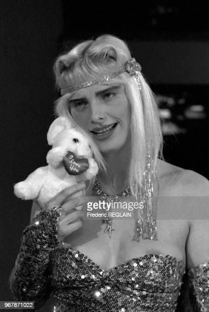 Ilona Staller aka Cicciolina à Paris le 27 juillet 1987 France