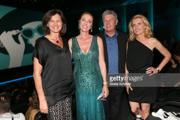 Ilse Aigner Diana Iljine Dieter Reiter and Maria Furtwaengler during the opening night of the Munich Film Festival 2017 at Mathaeser Filmpalast on...