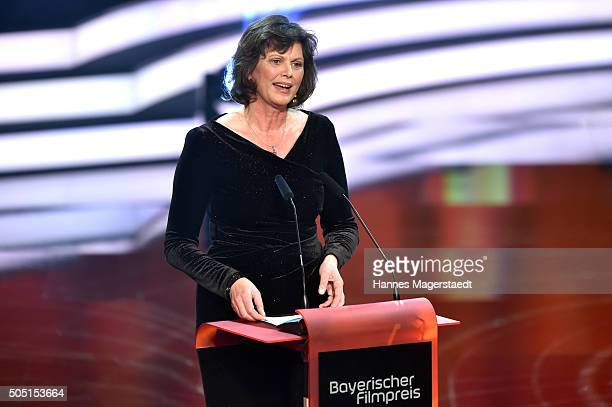 Ilse Aigner during the Bavarian Film Award 2016 show at Prinzregententheater on January 15 2016 in Munich Germany