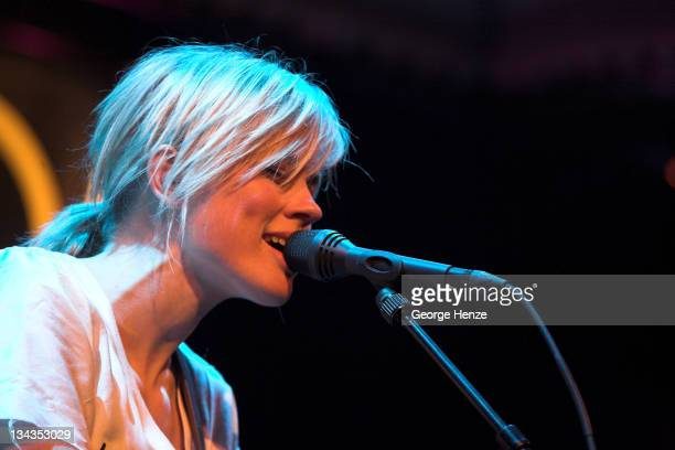 Ilse DeLange during 2007 Pinkpop Press Conference at Paradiso in Amsterdam Netherlands