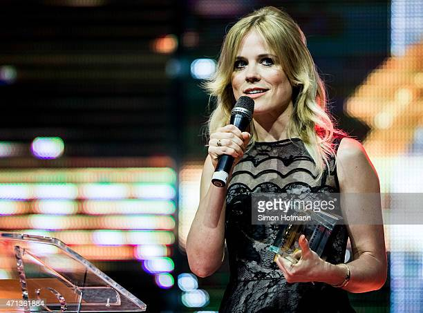 Ilse DeLange of the band The Common Linnets attends the Radio Regebenbogen Award Show 2015 at Europapark on April 24 2015 in Rust Germany