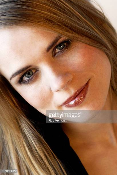 Ilse DeLange poses for a portrait on February 20th 2003 in Amsterdam Netherlands