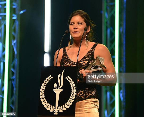 Ilse Hayes during the SA Sports Awards on November 27 2016 in Bloemfontein South Africa The 2016 SA Sport Awards recognise outstanding sporting...