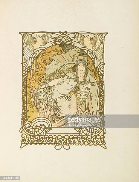 Ilsée Princesse de Tripoli by Robert de Flers 1897 Private Collection Artist Mucha Alfons Marie
