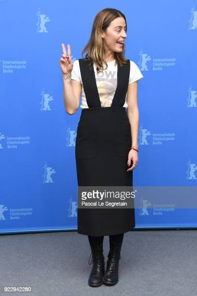 Ilse Salas poses at the 'Museum' photo call during the 68th Berlinale International Film Festival Berlin at Grand Hyatt Hotel on February 22 2018 in...