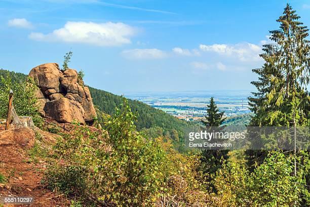 Ilsestein.National Park Harz, Germany