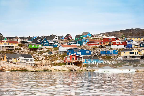 Ilulissat Greenland Houses Seaview