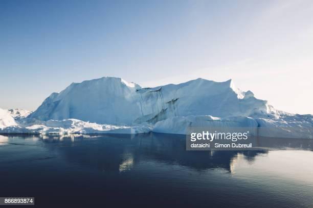 Ilulissat Kangia Icefjord iceberg reflection