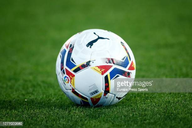 Ilustration, ball of the match during the Spanish second league, La Liga SmartBank, football match played between CD Leganes and FC Cartagena at...