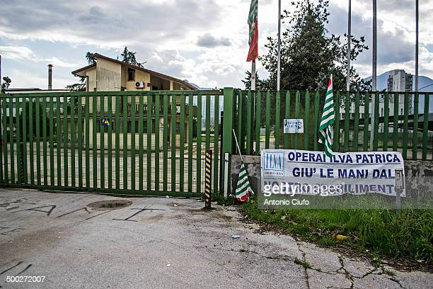 CONTENT] Ilva closes the factory workers lose their jobs Placard reads hands off from our factory Ilva is a corporation of the Riva group which is...