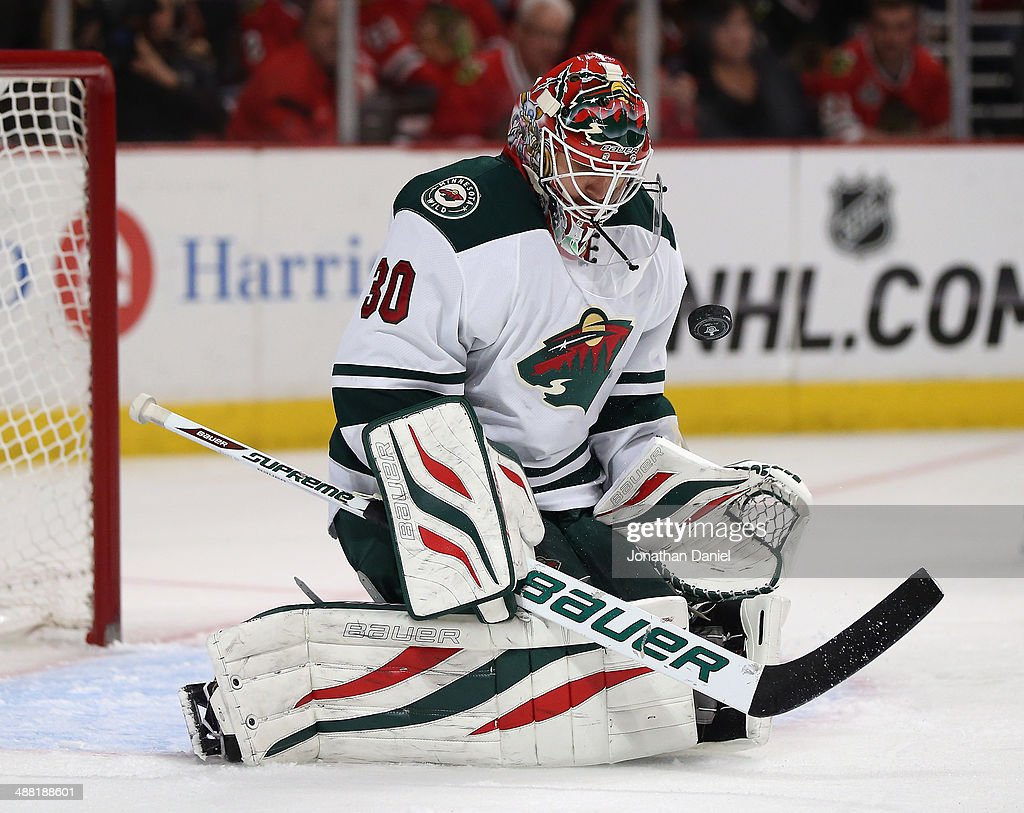 Minnesota Wild v Chicago Blackhawks - Game Two : News Photo